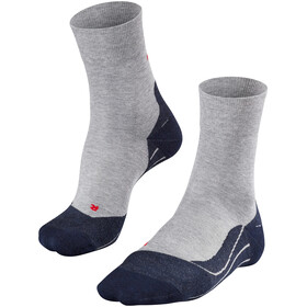 Falke RU4 - Calcetines Running Hombre - gris